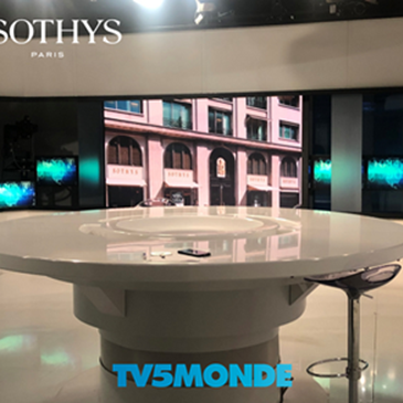 SOTHYS στο κανάλιτης γαλλικής τηλεόρασης TV 5 MONDE